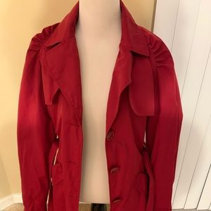 Red Express Trenchcoat